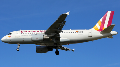 D-AKNF - Airbus A319-112 - German Wings