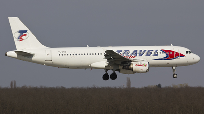 YL-LCD - Airbus A320-211 - Travel Service (SmartLynx Airlines)