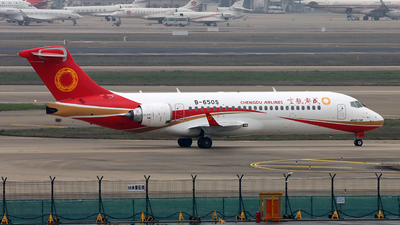 A picture of B650S - Comac ARJ21700 - Chengdu Airlines - © Michael Tang