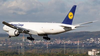 D-ALFD - Boeing 777-FBT - Lufthansa Cargo