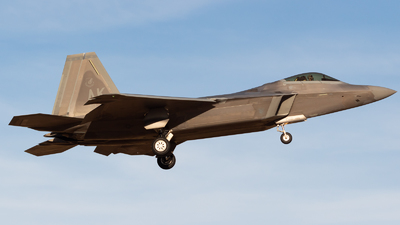 06-4126 - Lockheed Martin F-22A Raptor - United States - US Air Force (USAF)