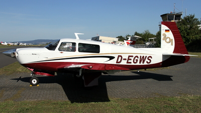 D-EGWS - Mooney M20J-201 - Private