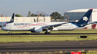 XA-ADD - Boeing 787-9 Dreamliner - Aeroméxico