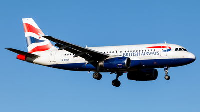 G-EUOF - Airbus A319-131 - British Airways