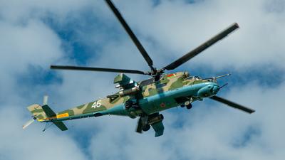 46 - Mil Mi-24R Hind - Belarus - Air Force