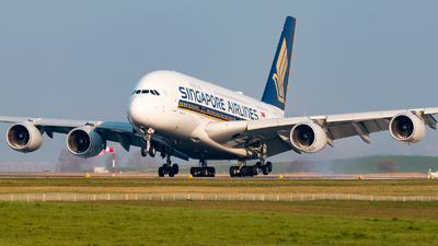 9V-SKW - Airbus A380-841 - Singapore Airlines