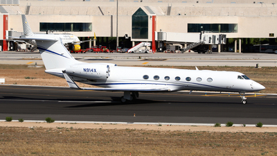 N914X - Gulfstream G550 - Private