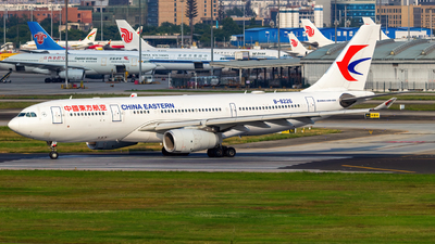 A picture of B8226 - Airbus A330243 - China Eastern Airlines - © SINO6702