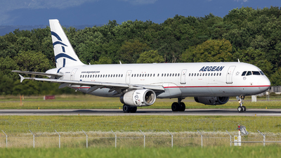 A picture of SXDGP - Airbus A321232 - Aegean Airlines - © Dranob