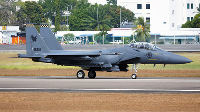 8319 - Boeing F-15SG Strike Eagle - Singapore - Air Force