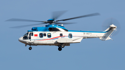 B-4071 - Eurocopter EC 225LP Super Puma II+ - China - Air Force