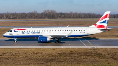 A picture of GLCYN - Embraer E190SR - British Airways - © Michael Baumert
