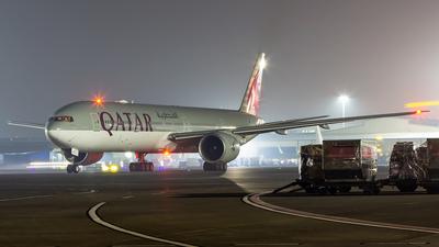 A picture of A7BAC - Boeing 7773DZ(ER) - Qatar Airways - © Janam Parikh