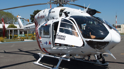 PR-UEA - Eurocopter EC 145 - Brazil - Government of Minas Gerais