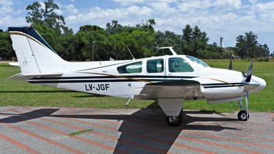 LV-JGF - Beechcraft 95-B55 Baron - Private