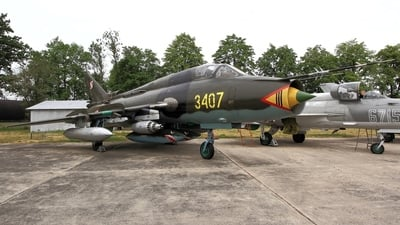 3407 - Sukhoi Su-22M4 Fitter K - Poland - Air Force