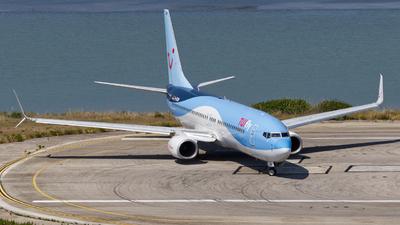A picture of DATUM - Boeing 7378K5 - TUI fly - © Sebastian Fridrich