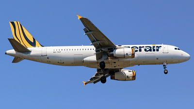 9V-TAT - Airbus A320-232 - Tiger Airways