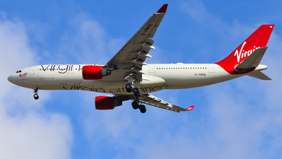 G-VWND - Airbus A330-223 - Virgin Atlantic Airways