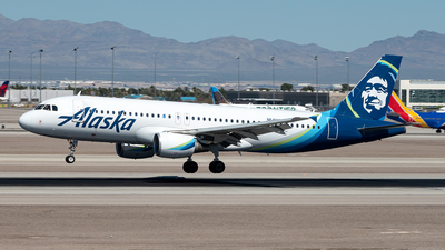 A picture of N641VA - Airbus A320214 - Alaska Airlines - © Yan777