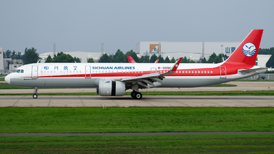 A picture of B309C - Airbus A321271N - Sichuan Airlines - © JerryLiuX.C