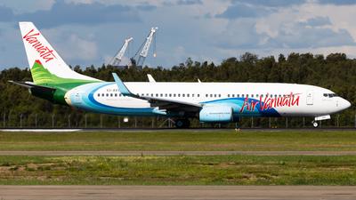 A picture of YJAV8 - Boeing 7378SH - Air Vanuatu - © Brandon Giacomin
