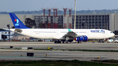 A picture of ECLXR - Airbus A330343 - World2Fly - © Javier Rodriguez - Amics de Son Sant Joan