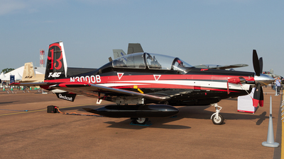 N3000B - Raytheon T-6C Texan II - Raytheon Aircraft