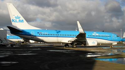 A picture of PHBGA - Boeing 7378K2 - KLM - © C. v. Grinsven