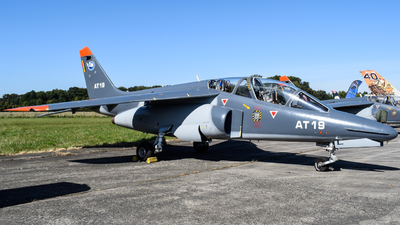 AT-19 - Dassault-Breguet-Dornier Alpha Jet 1B+ - Belgium - Air Force