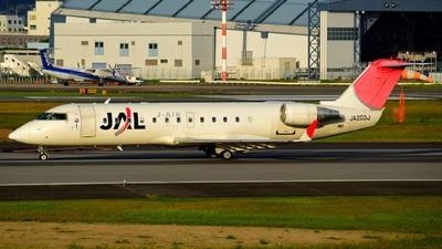 A picture of JA203J - Mitsubishi CRJ200ER - [7626] - © Clair
