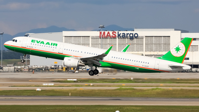B-16219 - Airbus A321-211 - Eva Air