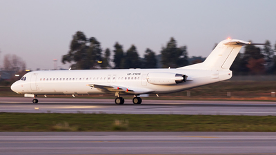 UP-F1016 - Fokker 100 - Bek Air
