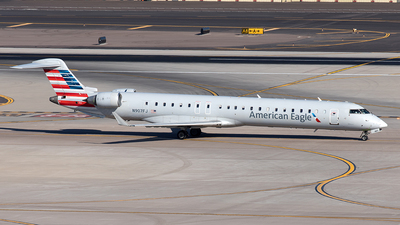 A picture of N907FJ - Mitsubishi CRJ900ER - American Airlines - © Yixin Chen