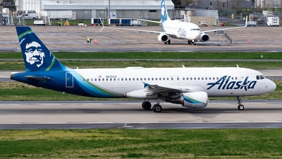 A picture of N835VA - Airbus A320214 - Alaska Airlines - © Nick Sheeder