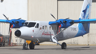C-GXWG - De Havilland Canada DHC-6-300 Twin Otter - Private