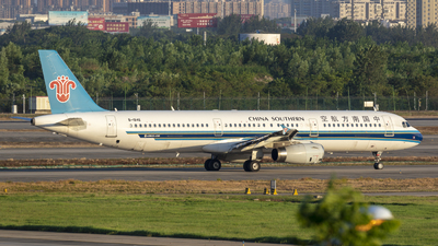 A picture of B1846 - Airbus A321231 - China Southern Airlines - © Eric Wang