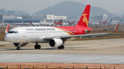 A picture of B8219 - Airbus A320214 - Shenzhen Airlines - © wingsofchina