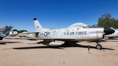 53-0965 - North American F-86L Sabre - United States - US Air Force (USAF)