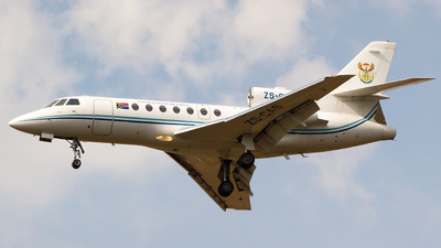 ZS-CAS - Dassault Falcon 50 - South Africa - Air Force