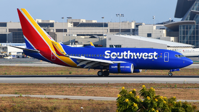 A picture of N476WN - Boeing 7377H4 - Southwest Airlines - © Rocky Wang