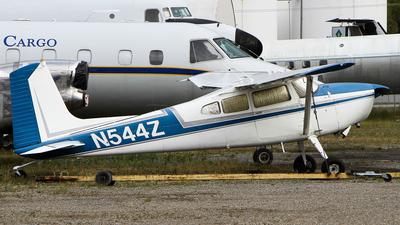 A picture of N544Z - Cessna 180H - [18052190] - © C. v. Grinsven