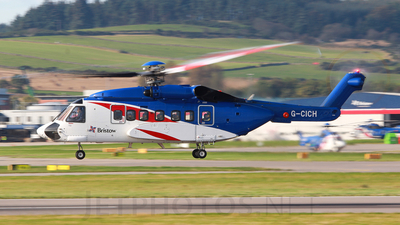 G-CICH - Sikorsky S-92 Helibus - Bristow Helicopters