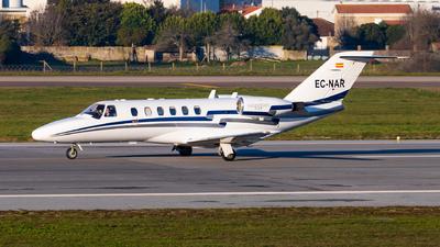 A picture of ECNAR - Cessna 525A CitationJet CJ2 - Air Taxi & Charter International - © Carlos Miguel Seabra