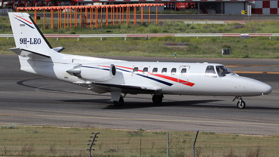 9H-LEO - Cessna 550 Citation II - Air City Grupo