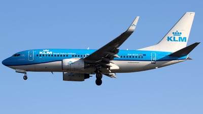 A picture of PHBGH - Boeing 7377K2 - KLM - © n94504