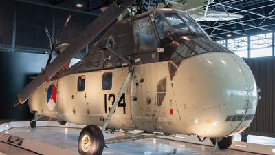 134 - Sikorsky UH-34J Seabat - Netherlands - Navy