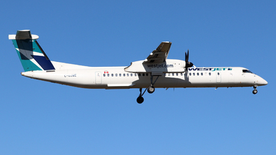 A picture of CGJWE - De Havilland Canada Dash 8400 - WestJet - © Guy Langlois