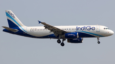 VT-IKA - Airbus A320-232 - IndiGo Airlines