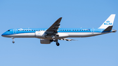 PH-NXB - Embraer 190-400STD - KLM Cityhopper